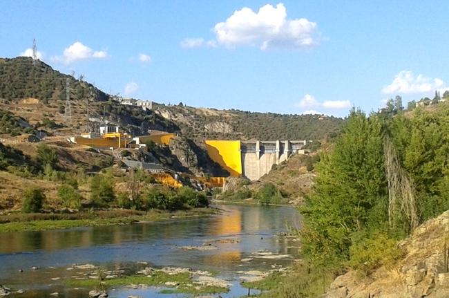 Central Hidroeléctrica en Villarino de los Aires, Salamanca