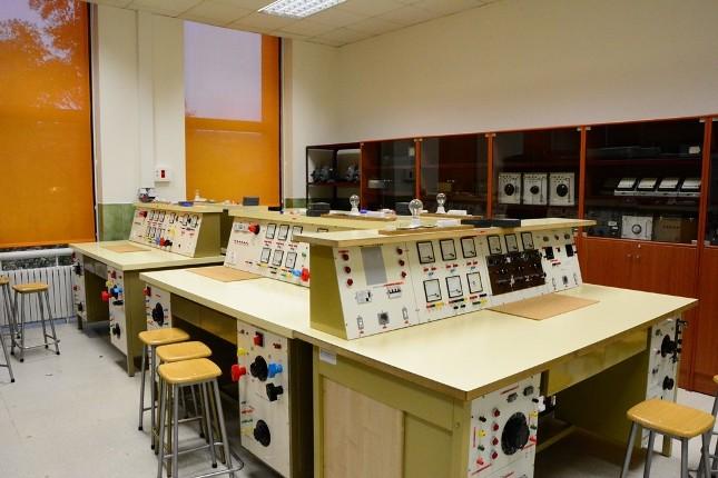 Laboratorio de Electrotecnia de la Escuela Técnica y Superior de Ingeniería de Minas de la Universidad de León (ULE)