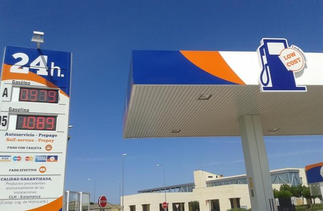 Gasolinera low cost en Salamanca