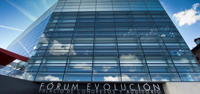 FORUM EVOLUCION Palacio de Congresos y Auditorio ©FELIX ORDOÑEZ