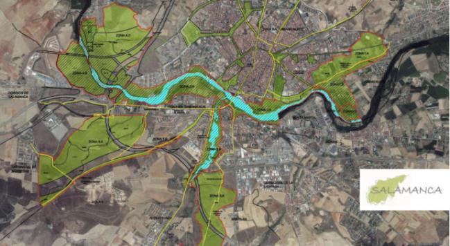 Proyecto de desarrollo de infraestructura verde en Salamanca