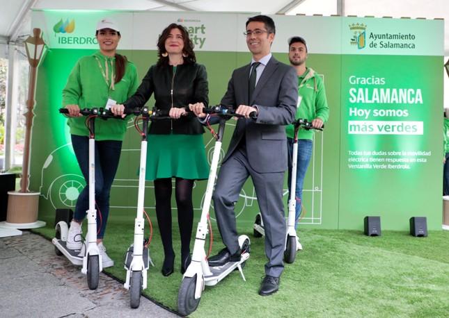 Iberdrola Rodriguez y García, Ventanilla Verde Iberdrola Salamanca